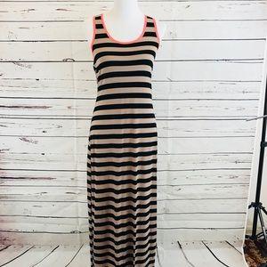 Charming Charlie Striped Maxi Dress